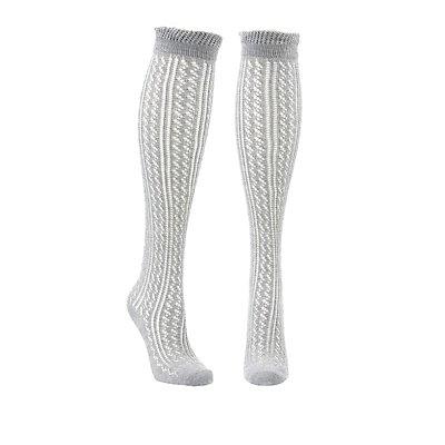 Wide Width Pointelle Socks