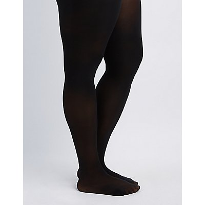Plus Size Classic Opaque Tights