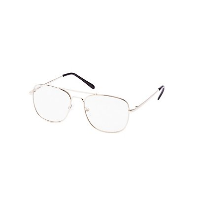 Square Metal Faux Readers