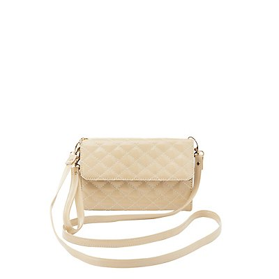 Quilted Convertible Crossbody Bag