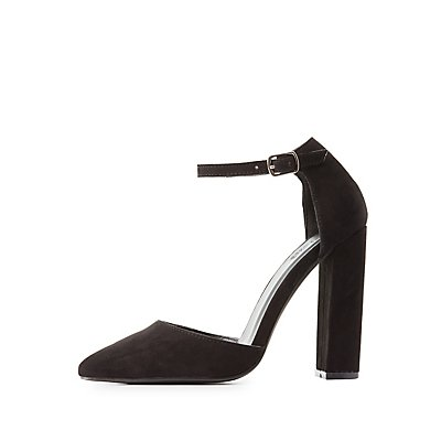 Pointed Toe D'Orsay Heels