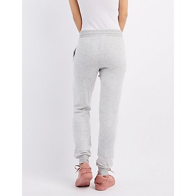 Brushed Hacci Jogger Pants