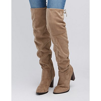 Qupid Over-The-Knee Boots
