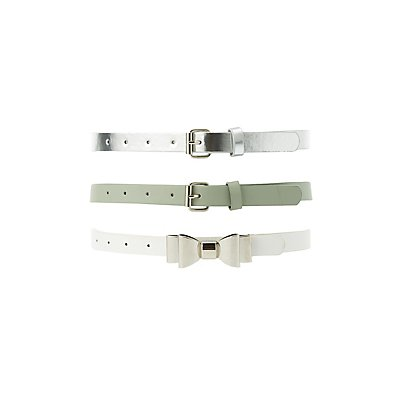 Plus Size Belts - 3 Pack