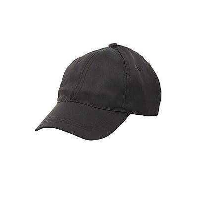 Satin Baseball Hat