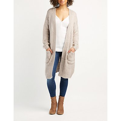 Chunky Knit Duster Cardigan