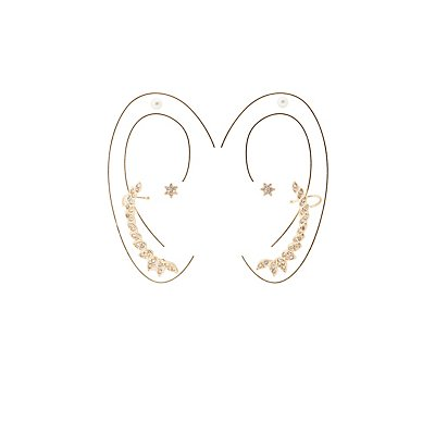 Ear Cuff & Stud Earrings Set