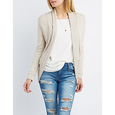 Shawl Collar Cocoon Cardigan