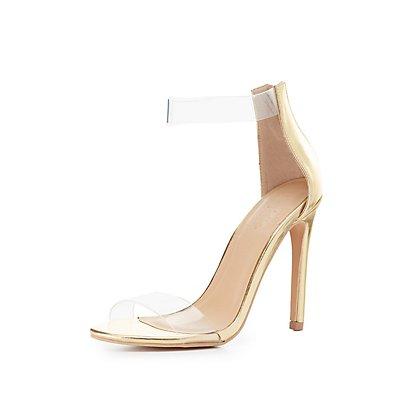 PVC Two-Piece Dress Sandals