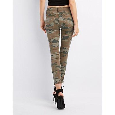 Refuge Camo Skinny Jeans