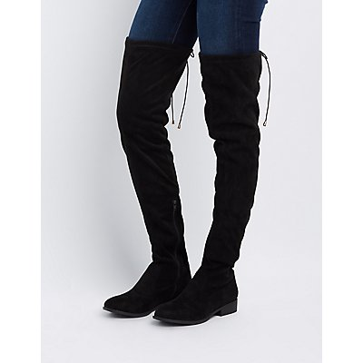 flat the knee boots cr boot