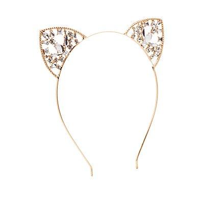 Embellished Cat Ear Headband
