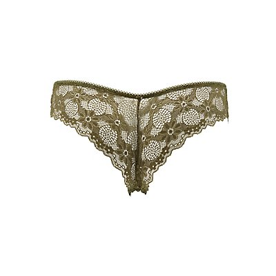 Sheer Lace Cheeky Panties