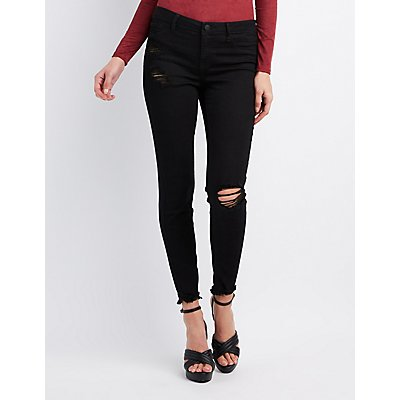 Refuge Destroyed Skinny Jeans