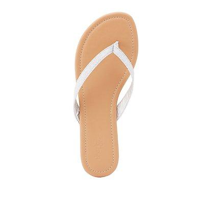 Glitter Thong Sandals