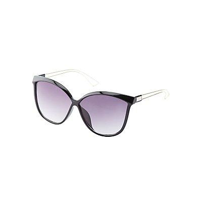 Tinted Oversize Sunglasses