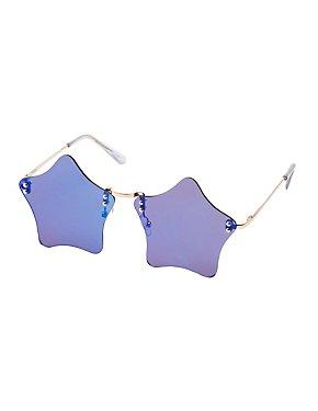 Star Rimless Sunglasses