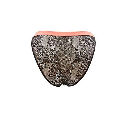 Plus Size Lace Bikini Panties