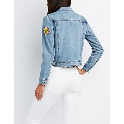 Refuge Patch Denim Jacket