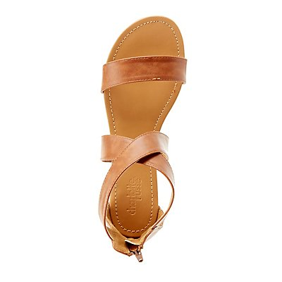 Crisscross Ankle Sandals
