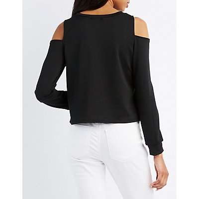 Can You Not Cold Shoulder Top