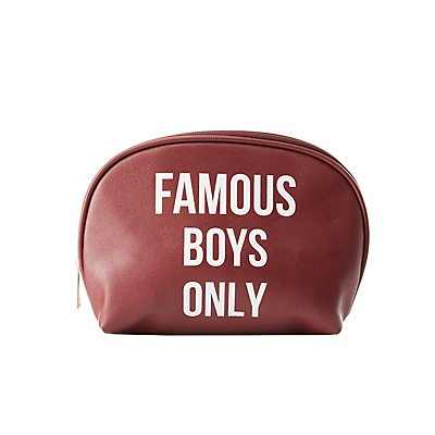 Famous Boys Only Makeup Bag