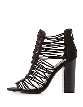 Bamboo Strappy Woven Sandals