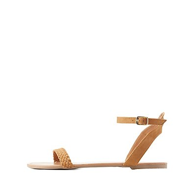 Braided Two-Piece Sandals