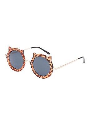 Leopard Cat Ear Sunglasses