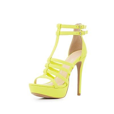 Strappy Platform Dress Sandals