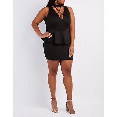 Plus Size Cocktail Dresses &amp- Party Dresses - Charlotte Russe