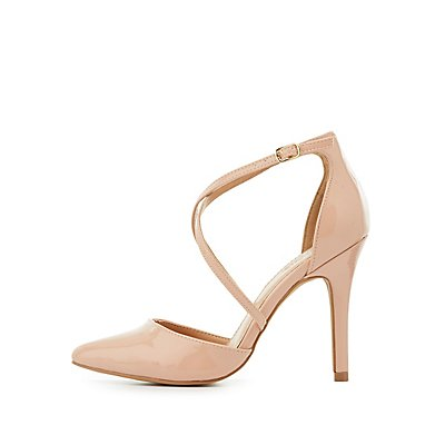 Three-Piece Pointed Toe Pumps