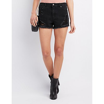 Jean Shorts & Denim Shorts for Women | Charlotte Russe