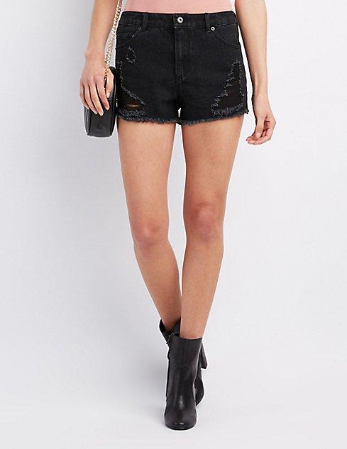 Jean Shorts & Denim Shorts for Women | Charlotte Russe