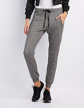 Zipper-Pocket Jogger Pants
