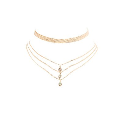 Chainlink Layering Necklaces - 2 Pack