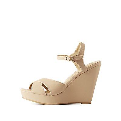 Heels: Open Toe Closed Toe &amp Platform | Charlotte Russe