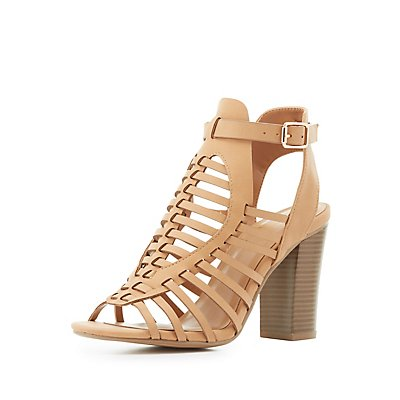 Buckled Huarache Sandals