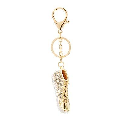 Embellished Shoe Keychain