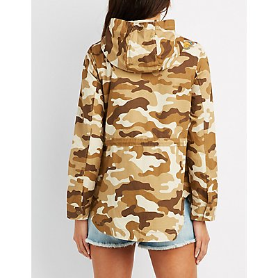 Patch Camo Anorak Jacket