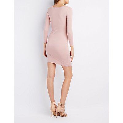 Scoop Neck Bodycon Dress