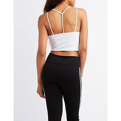 Strappy Caged Cropped Tank