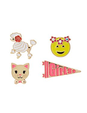 Assorted Pin Set - 4 Pack