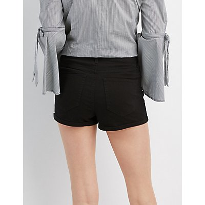Refuge Hi-Rise Cheeky Shorts