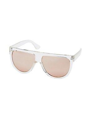 Reflective Shield Sunglasses