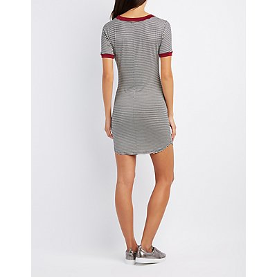 Los Angeles Striped Bodycon Dress