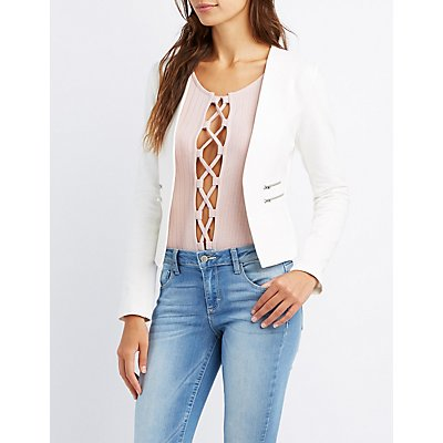 Blazers for Women & Juniors | Charlotte Russe