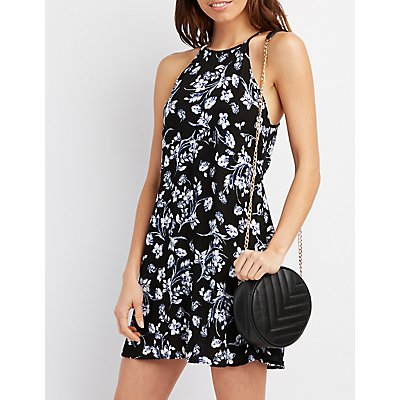 Little Black Dress: Lace- Cutout &amp- Strappy - Charlotte Russe