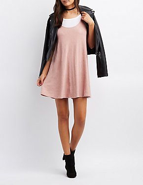 Trapeze Shift Tank Dress