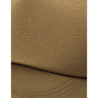 Satin Trucker Hat